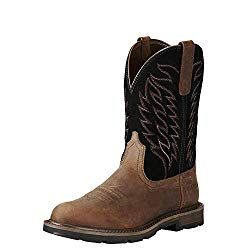 Best pull-on square toe work boots
