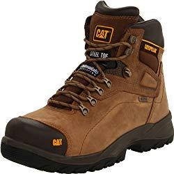Caterpillar Diagnostic Waterproof Steel Toe Work Boots