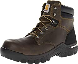breathable work boots with composite toe