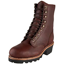 Chippewa Men's Insulated Steel Toe Logger Boots