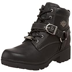 HARLEY-DAVIDSON FOOTWEAR Women's Tegan Ankle Boot