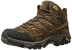 merrell moab 2 mid waterproof hiking boots - women's
