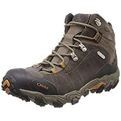 oboz bridger premium mid bdry hiking boots - men's