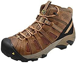 KEEN Utility Men's Flint Mid Steel Toe Work Boots