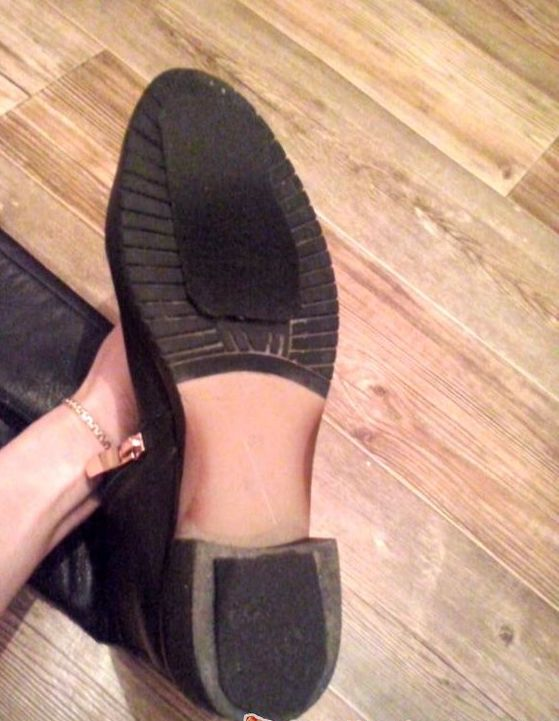 what can you put on the bottom of shoes to make them less slippery