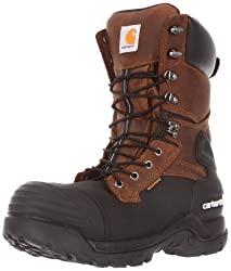 Carhartt Men's 10 Waterproof Insulated PAC Composite Toe Boot