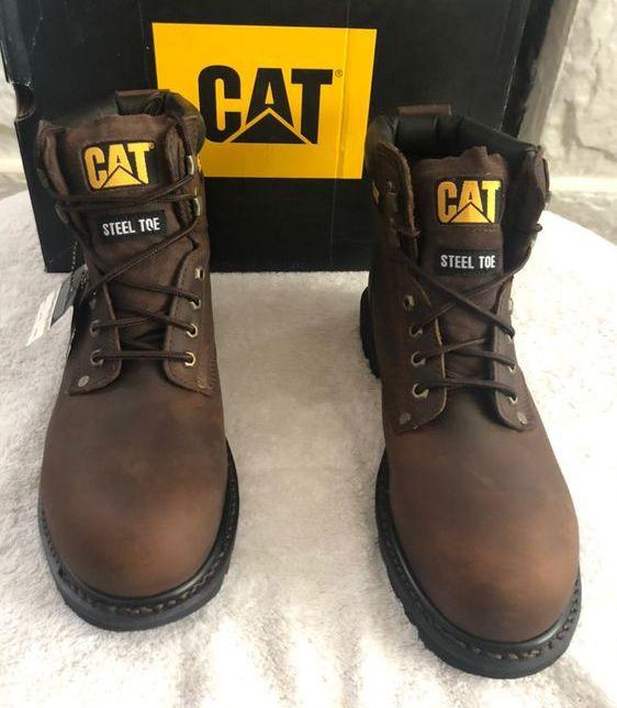 Caterpillar Men's Second Shift Steel Toe Work Boots