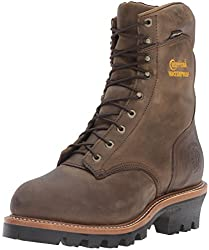 chippewa men's 8 insulated steel toe eh logger boot