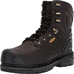 "Keen Utility CSA Philadelphia+ 8"" 600G WP Carbon Fiber Toe Insulated Boots"