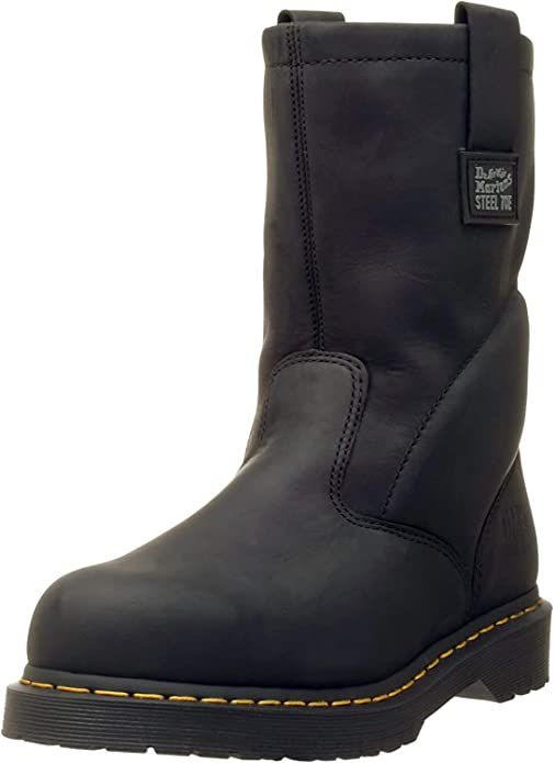 most comfortable pull on steel toe boots for standing all day