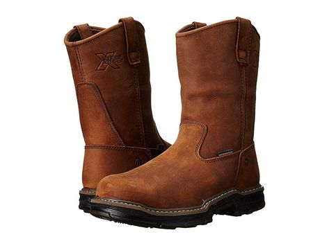 Wolverine Men's Rubber Insulated Wellington Work Boots