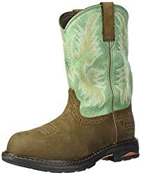 ariat women's tracey waterproof composite toe work boots