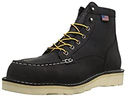 wedge sole work boots made in USA