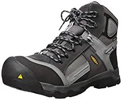 """KEEN Utility Men's Davenport 6"""" Composite Toe Insulated Waterproof Work Shoe"""
