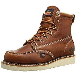 "Thorogood Men's American Heritage 6"" Moc Toe Boots"
