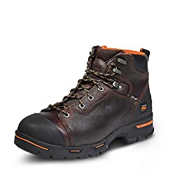 Timberland Pro Men's Endurance 6 Inch Steel Safety Toe Puncture Resistant Work Boots