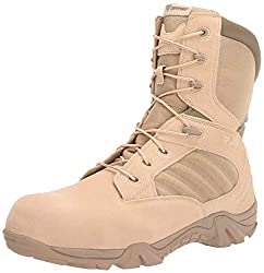 work boots with zipper