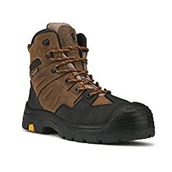 Rockrooster Woodland - Mens Composite Toe Waterproof Work Boots
